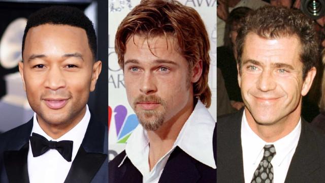 Hollywood. Os homens mais sensuais do mundo ao longo dos anos