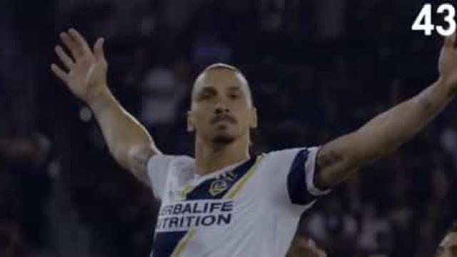 Tem cinco minutos? Recorde os 52 golos de Ibrahimovic no LA Galaxy