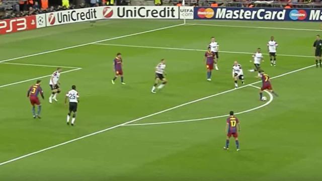 Este foi o melhor golo da exitosa carreira de David Villa