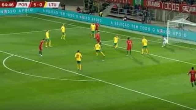 Ronaldo chega ao hattrick ante a Lituânia e repete receita pela nona vez