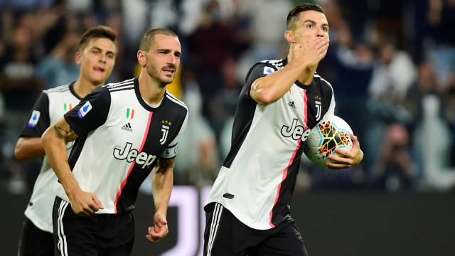 """Capitão da Juve avisa Ronaldo: """"Quando voltarmos, vamos ter de conversar"""""""