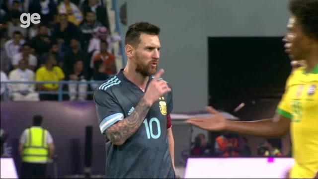 Tensão no Brasil-Argentina: o momento em que Messi mandou calar Tite