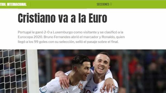 """Lá fora: Espanhóis e franceses torcem nariz ao apuramento de """"Euronaldo"""""""