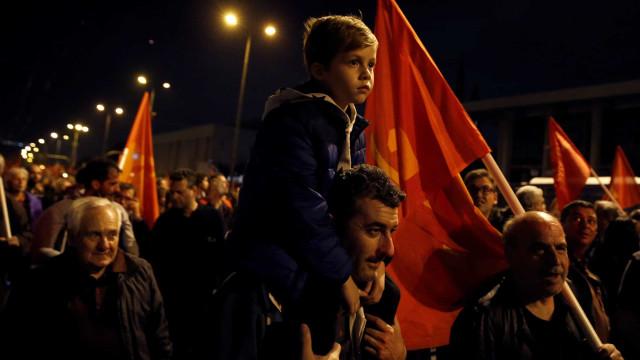 Manifestação em Atenas celebra revolta estudantil de 1973