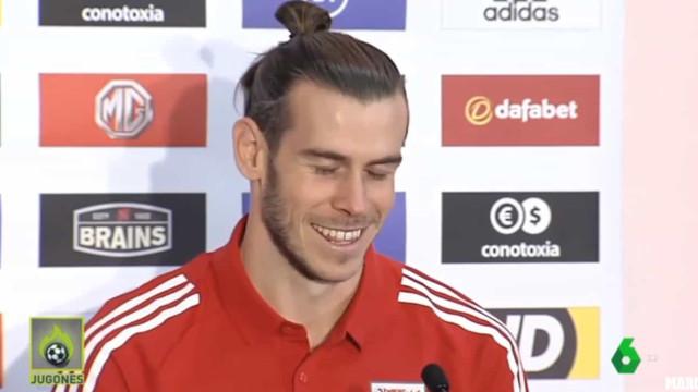 Bale comentou cântico dos adeptos de Gales que arrasa nas redes sociais