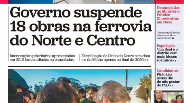 Hoje é notícia: Governo suspende 18 ferrovias; Milionário engravida menor