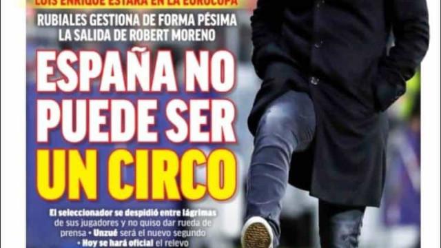 """Lá fora: """"Circo"""" e """"bomba"""" em Espanha e Itália rendida à seleção"""