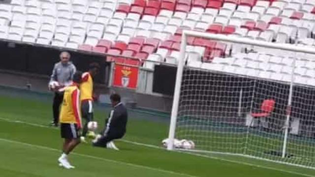 Benfica prossegue a 'Operação Vizela' e mostra o novo 'tapete' da Luz