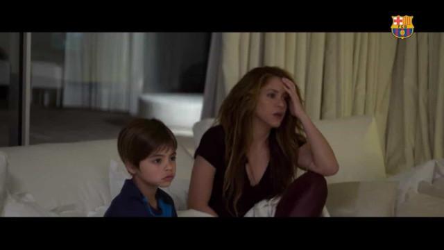"""Quando Shakira se enervou com um jogo do Barça: """"Não acredito..."""""""