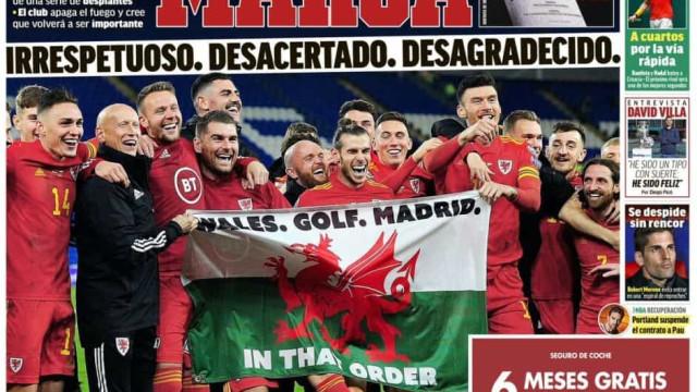 Lá fora: O regresso de Mourinho e Bale novamente envolto em problemas