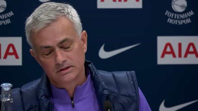 O momento em que Mourinho quase soltou um palavrão em português