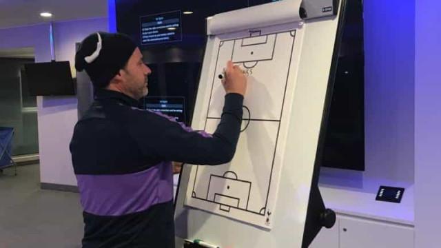 A mensagem de despedida que Pochettino deixou no balneário do Tottenham
