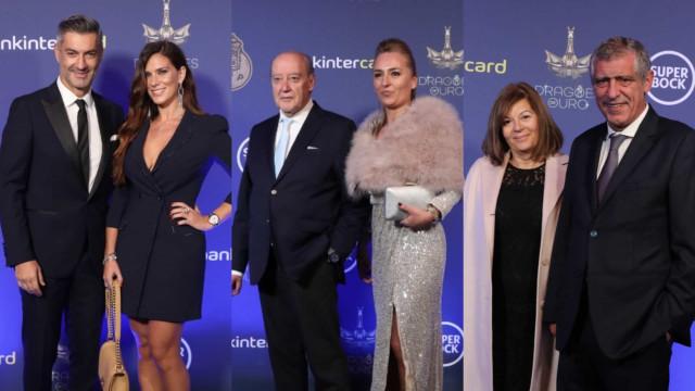 Gala Dragões de Ouro: Os looks da noite de glamour do clube azul e branco