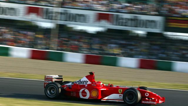 Ferrari de Schumacher é o segundo carro da F1 mais caro já leiloado