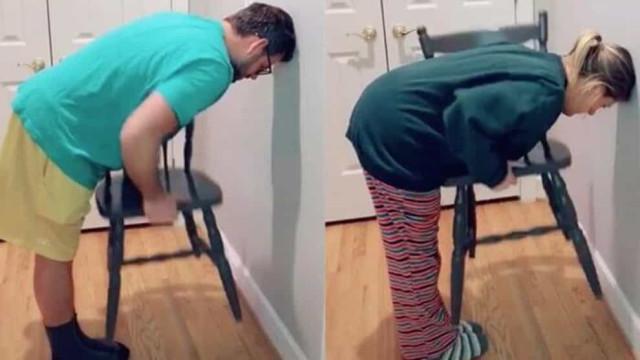 'Chair challenge', o desafio viral que está a separar homens e mulheres