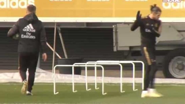 Bale de novo em apuros? Galês joga golfe no treino do Real Madrid
