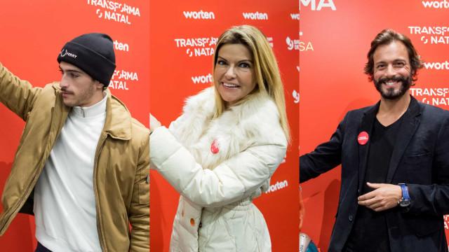 Natal solidário. Famosos apoiam campanha da Worten