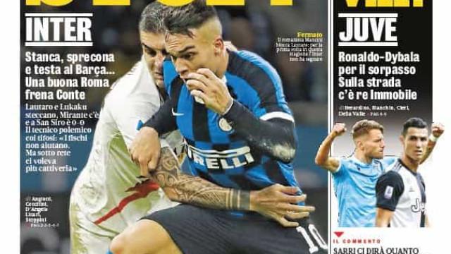 Lá fora: O 'Stop' de Fonseca ao Inter e a noite de Messi