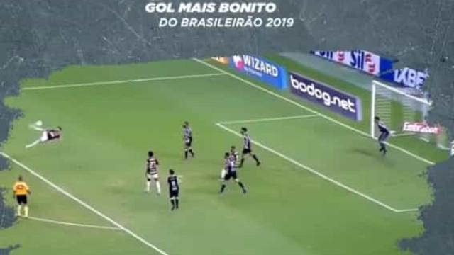 Digno de Puskas: Avançado do Flamengo marcou o melhor golo do Brasileirão