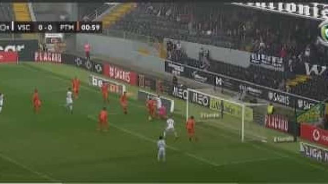 Jogada magistral de Ola John originou primeiro golo em Guimarães