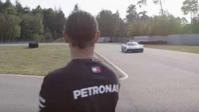 """Lewis Hamilton impressionado com o Project One da Mercedes: """"Incrível"""""""