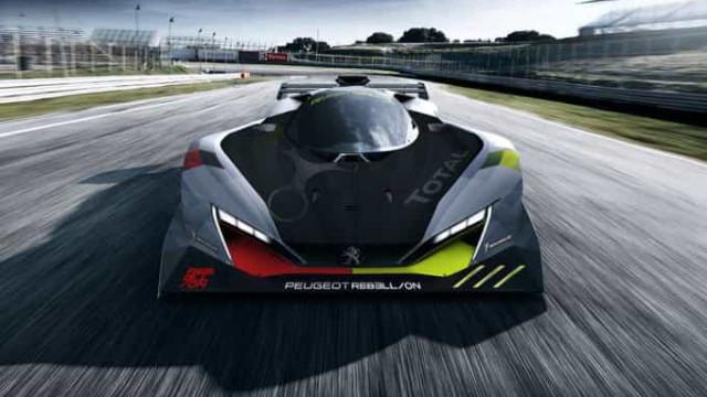 Este poderá ser o carro da Peugeot para participar nas 24h de Le Mans