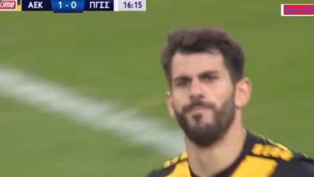 Nélson Oliveira assinou este hattrick e já é o melhor marcador na Grécia