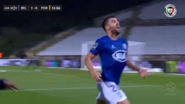 André Santos encheu o pé e surpreendeu o FC Porto no Jamor