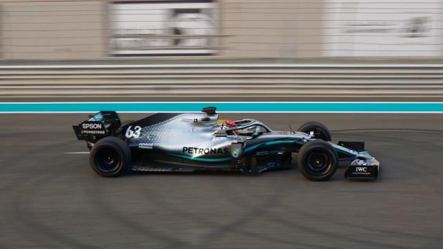 F1: Pneus de 18 polegadas para 2021 testados por George Russel