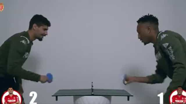 Gelson Martins ou Gil Dias: Quem joga melhor ténis de mesa?