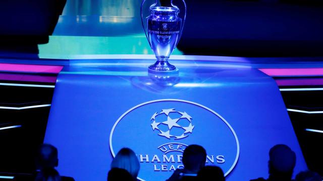 Champions: São estes os jogos da final a 8 em Lisboa