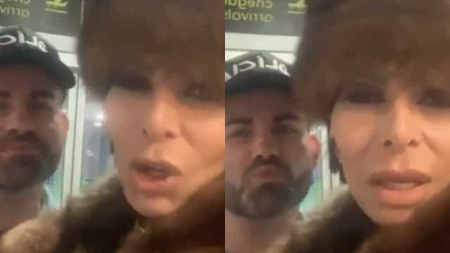 Após ser detido no aeroporto, José Castelo Branco faz vídeo com polícia