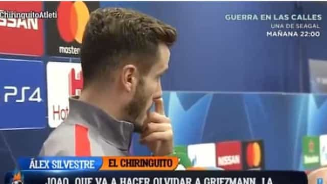 Jogador do Atlético não gostou de ser questionado sobre João Félix