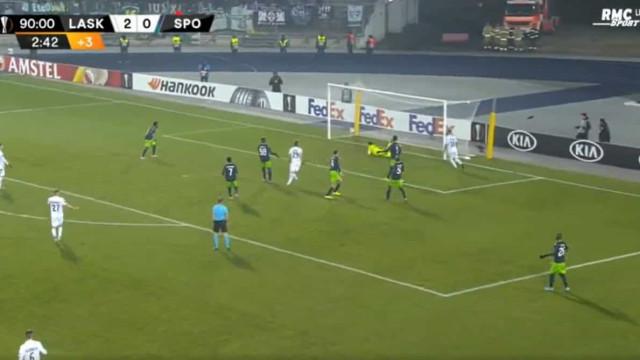 Foi assim que o LASK Linz deu a machadada final no Sporting