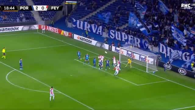 Botteghin reduziu a desvantagem do Feyenoord
