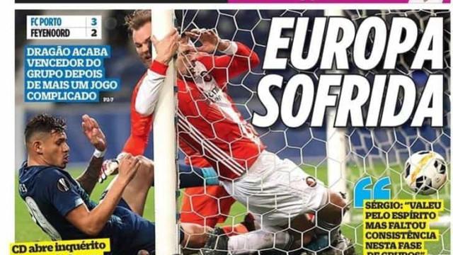 Por cá: Europa sofrida e mãos de ferro em destaque