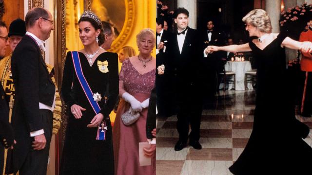 Look da semana: Kate Middleton (volta) a inspirar-se em princesa Diana