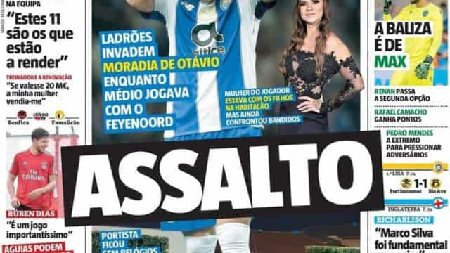 Por cá: Assalto a Otávio, a desconfiança de Lage e o matador Díaz