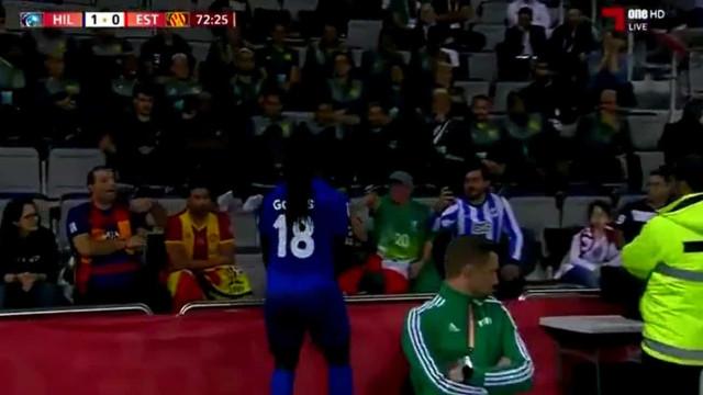 Marcou golo da vitória do Al-Hilal e foi festejar à frente de Jorge Jesus