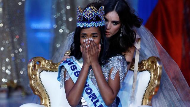 A nova Miss Mundo é natural da Jamaica
