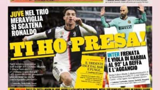 Lá fora: Cristiano Ronaldo, De Bruyne e Benzema são 'reis'
