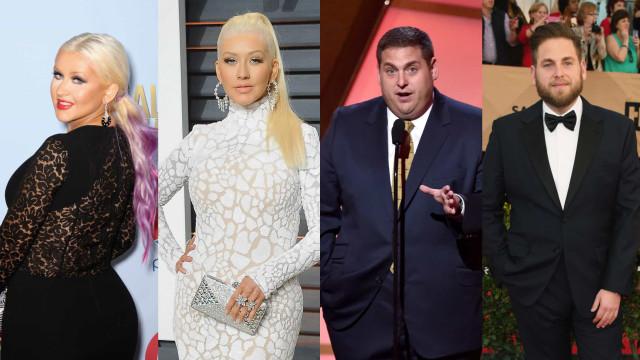 57 exemplos inspiradores de celebridades que perderam peso