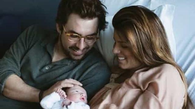 Novas fotos do bebé de Inês Folque. Tomás é ruivo e vai partir corações