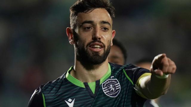 Ingleses já apontam possível data de estreia de Bruno Fernandes no United