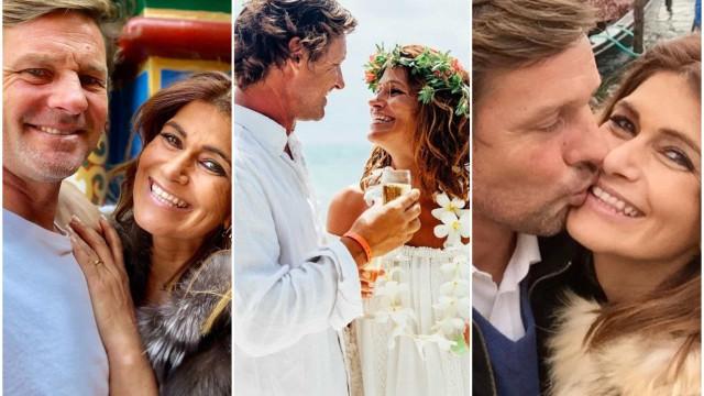 Liliana Campos assinala data especial com declaração de amor ao marido