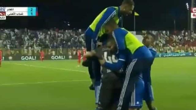 O golo de Tozé que valeu a conquista da Taça do Golfo do Pérsico