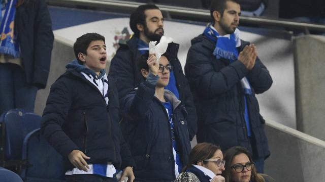 Conceição viu lenços brancos após a derrota caseira com o Sp. Braga