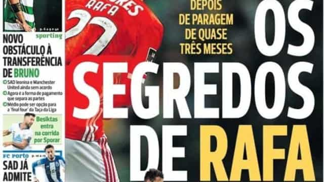 """Por cá: Um """"Rafa à Félix"""" e um FC Porto em """"depressão"""""""