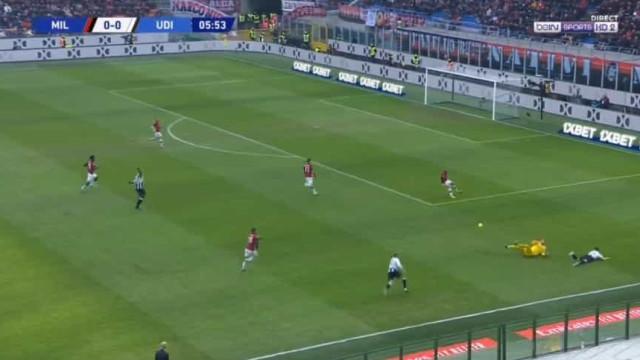 Saída disparatada de Donnarumma deixou AC Milan em desvantagem