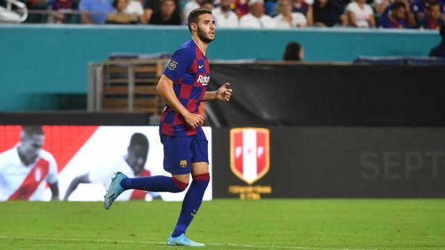 Sporting perto de contratar avançado do Barcelona